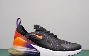 耐克Nike Air Max 270半掌气垫情侣跑步鞋