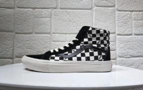 万斯Vans Blur Check SK8-Hi高帮板鞋