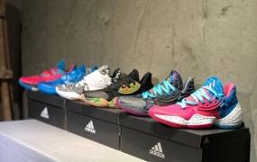 阿迪达斯Adidas Harden Vol.4 哈登4代男子实战篮球鞋