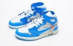 Jordan 1 Retro乔丹一代OFF-WHITE x联名款高帮篮球鞋