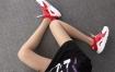 Nike Air Huarache 847568-116 红白 华莱士4代网面 模特上脚图