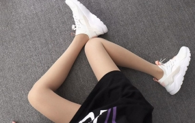 Nike Air Huarache 847568-016 白橙粉 华莱士4代网面 模特上脚图