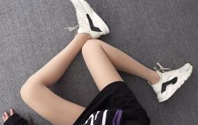 Nike Air Huarache 847567-017 米灰 华莱士4代网面 模特上脚图