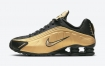 "耐克NIKE SHOX R4 SURFACES""金属金"""