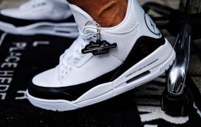 片段x 乔丹 Air Jordan 3的现场照片