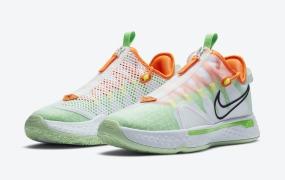 """佳得乐x 耐克 Nike PG 4"""" White GX""""发布日期"""