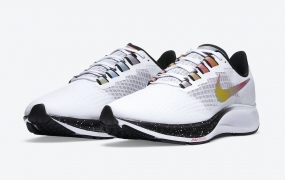 Nike Air Zoom Pegasus 37配以喷漆亮点