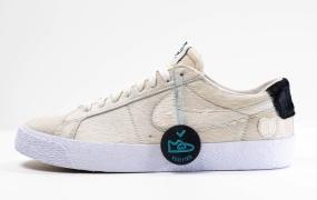 抢先看:Medicom Toy x Nike SB Blazer低帮鞋
