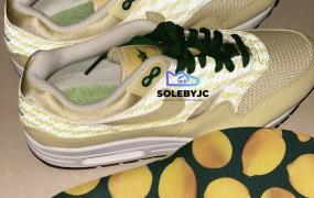 "第一眼:耐克 Nike Air Max 1 PRM"" Lemonade"""