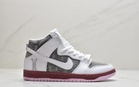 耐克SB Zoom Air Nike Dunk SB 高帮休闲板鞋ID:ZGD435-OJR