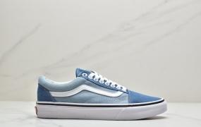 硫化工艺‼️VANS万斯牛仔帆布蓝:经典低帮板鞋ID:JZD006-OJR