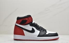 """耐克Air Jordan 1 Retro High OG""""Chicago""""AJ1乔丹一代高帮百搭文化运动篮球鞋""""芝加哥白红"""""""