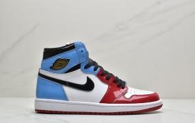 """耐克Air Jordan 1 Retro High OG""""Chicago""""AJ1乔丹一代高帮百搭文化运动篮球鞋""""芝加哥白红""""ID:ZDD102-OZD"""