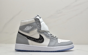 "Dior x Air Jordan 1 High OG ""迪奥联名""AJ1中邦休闲篮球鞋"