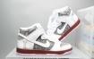 耐克 Nike SB Dunk High 粉白灰二次元 扣篮系列复古高帮休闲运动滑板板鞋