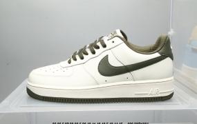 耐克 NK Air Force 1 Low 牛油果绿 空军一号低帮百搭休闲运动板鞋