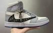 纯原版本 Dior x Air Jordan 1 High OG AJ1乔1迪奥联名CN8607-002 男子文化篮球鞋