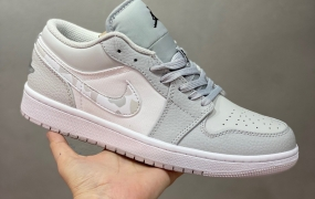 Air Jordan 1 Low 白灰 AJ1乔1低帮休闲板鞋ID:580JVD1027