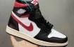 Air Jordan 1 Retro High Black Gym Red AJ1 红勾 新黑红脚趾 2019款