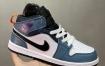 Air Jordan 1 Mid AJ1乔1中帮文化篮球鞋 小烟灰目前市售最高品质 不接受反驳