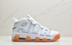 耐克Nike Wmns Air More Uptempo White Aqua Gum 白薄荷 皮蓬经典高街百搭篮球鞋系列
