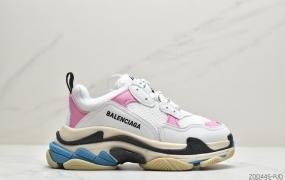 巴黎世家Balenciaga Triple-S Sneaker 时装复古厚底做旧老爹鞋