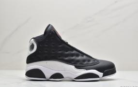 """耐克 Air Jordan 13 Retro""""He Got Game """" 3M反光 黑白熊猫"""