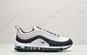 耐克Nike Wmns Air Max 97 黑白 复古气垫百搭休闲运动慢跑鞋ID:ZJD266-PJF