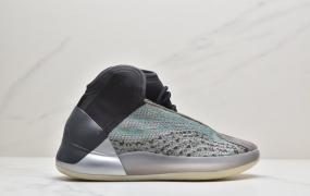 """阿迪达斯adidas YEEZY Boost Basketball Quantum QNTM""""Ophanim""""椰子爆米花中底高帮针织休闲运动篮球鞋"""