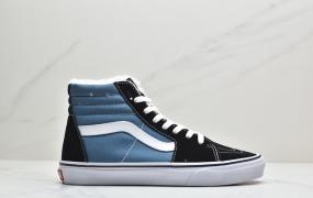 万斯Vans SK8-Hi 海军蓝经典系列板鞋ID:JED006-PJG
