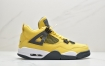 "AJ4 电母 Air Jordan 4 ""Lightning"" 官方 2018 年底回归 独家率先出货 柠檬黄电母篮球鞋"