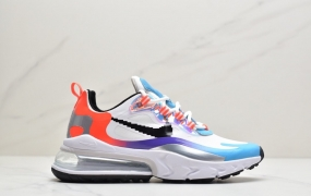 """耐克Nike Air Max 270 React SE""""Light Orewood Brown""""270瑞亚赛车系列后半掌气垫百搭运动慢跑鞋ID:JKD048-PJS"""
