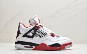 """乔丹 Air Jordan 4 """"Fire Red"""" AJ4代 火焰红 元年版本篮球鞋EKD372-PJS"""