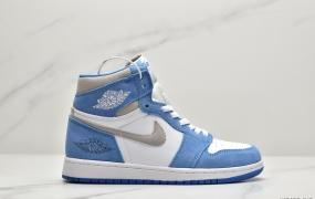 """乔丹Air Jordan 1 """"Midnight Navy""""午夜北卡蓝篮球鞋"""