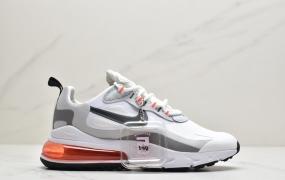 """耐克Nike Air Max 270 React SE""""Light Orewood Brown""""270瑞亚赛车系列后半掌气垫百搭运动慢跑鞋ID:JHD012-PJR"""