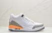 """Air Jordan 3 WMNS """"Laser Orange"""" 黄水泥 白橙 AJ3 乔丹3代 aj3 乔3 激光橙 乔丹篮球鞋系列ID:ZKD171-PJR"""