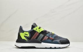 阿迪达斯 Adidas Nite Jogger 2020 Boost 夜行者 复古休闲百搭运动跑鞋 2008WZYFEI