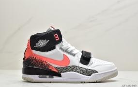 """乔丹Air Jordan Legacy 312 NRG""""Pure white"""" 号称 """"最强三合一"""" 的 Jordan Legacy 312实战篮球鞋"""