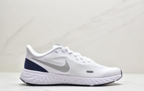 耐克NIKE REVOLUTION 5 跑步鞋 运动网面轻便透气缓震耐磨 低帮训练健身慢跑鞋