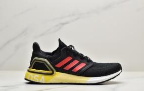 Adidas Ultra Boost 20 2020新作 特别联名UB6.0系列 超弹力全掌爆米花 运动休闲跑步鞋