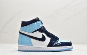 Air Jordan 1 Retro High Og 乔1 北卡蓝漆皮 AJ1高帮篮球鞋
