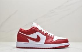 乔丹Air Jordan 1 Low Gym Red 体育红 芝加哥 大学红低帮篮球鞋/板鞋