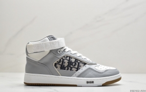 Dior迪奥2020秋冬最新B27系列高帮板鞋ID:ESD102-PZH