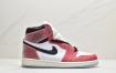 全新芝加哥配色 Air Jordan 1 AJ1中帮篮球鞋ID:EKD531-PZH