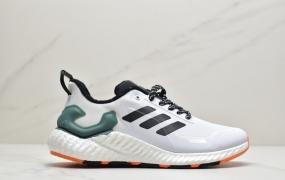 阿迪达斯Adidas Alphabounce Boost M 弹力缓震休闲运动跑鞋