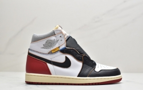Union x Air Jordan AJ1 Retro High NRG 联名四色拼接AJ1篮球鞋