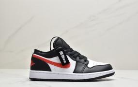 "Air Jordan 1 Low""Siren Red""黑红 AJ1低帮篮球鞋ID:ZKD548-PZS"