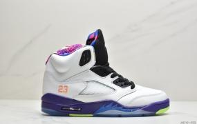 """乔丹 AJ5 Air Jordan 5 """"Alternate Bel-Air""""新鲜王子中帮男子实战篮球鞋"""
