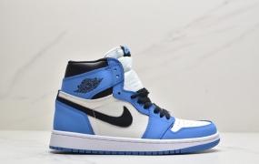 """乔丹Air Jordan 1 High OG """"University Blue"""" 高帮 大学蓝 AJ1 乔丹1代 aj1 乔1 高邦篮球鞋"""
