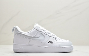 """耐克Nike Air Force 1 Premium """"White/black"""" 空军一号经典板鞋"""